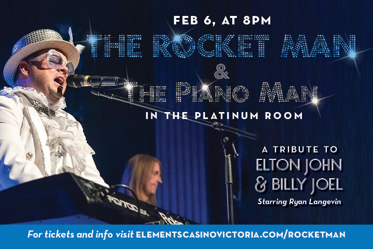 Rocket Man Piano Man Victoria BC Elton John and Billy Joel Tribute Show